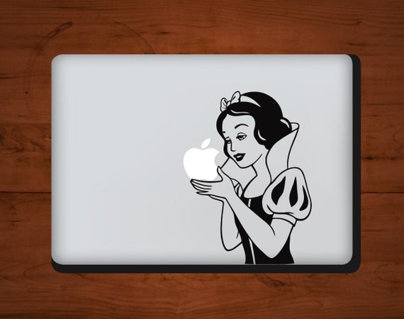 Snow White - MacBook Vinyl Decal FAST SHIPPING