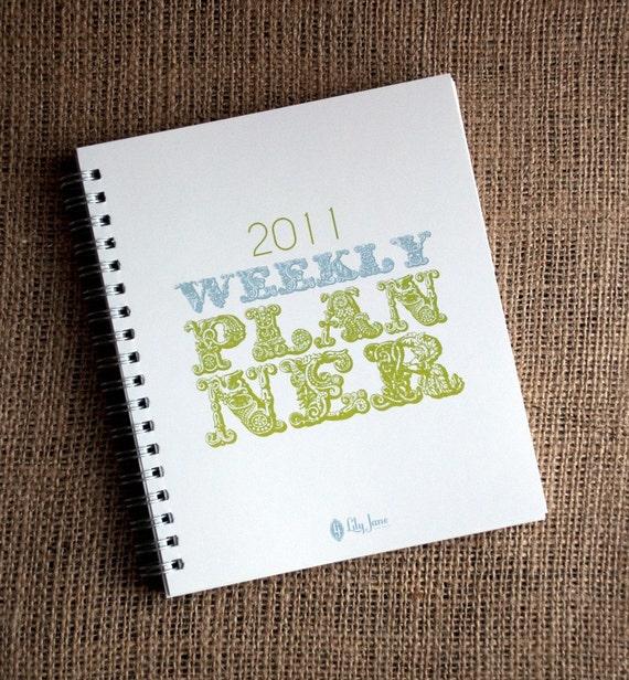 2011 Weekly Planner