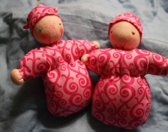Organic 5inch Waldorf Cuddle doll