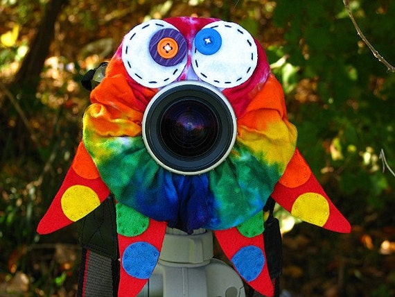 custom Limited Edition Tie Dye OCTOPUS Lens Pet for your camera