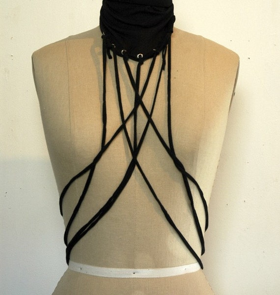 cloth body harness by people's couture, transforming accessory