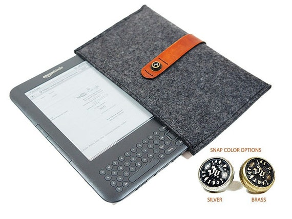 Merino Wool Kindle Cover