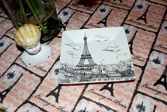 Evening in Paris in Cotton Sateen