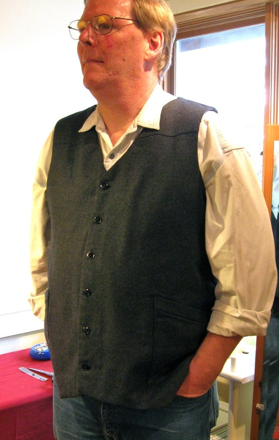 Custom Wool Vest for Men
