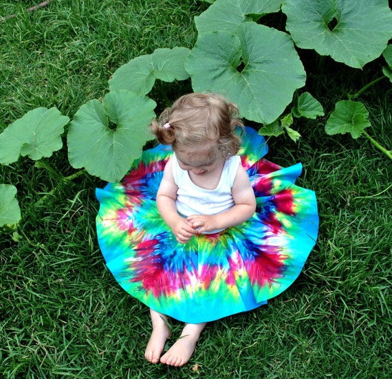 Mandala circle skirt (toddler size)
