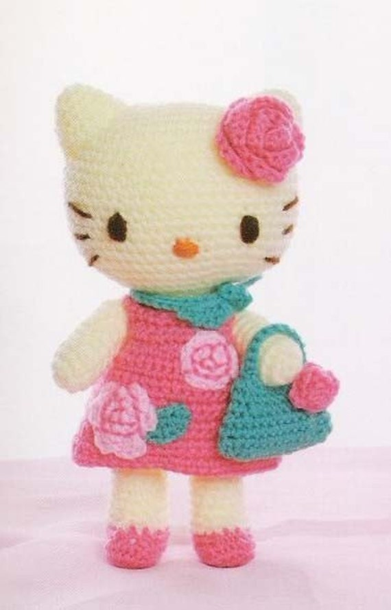 Free Shipping 20 Crochet Kitty Toys  pattern 3 (PDF)