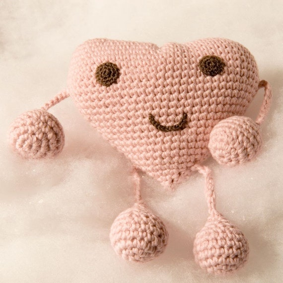 Organic Baby Toy - Valentine's Heart