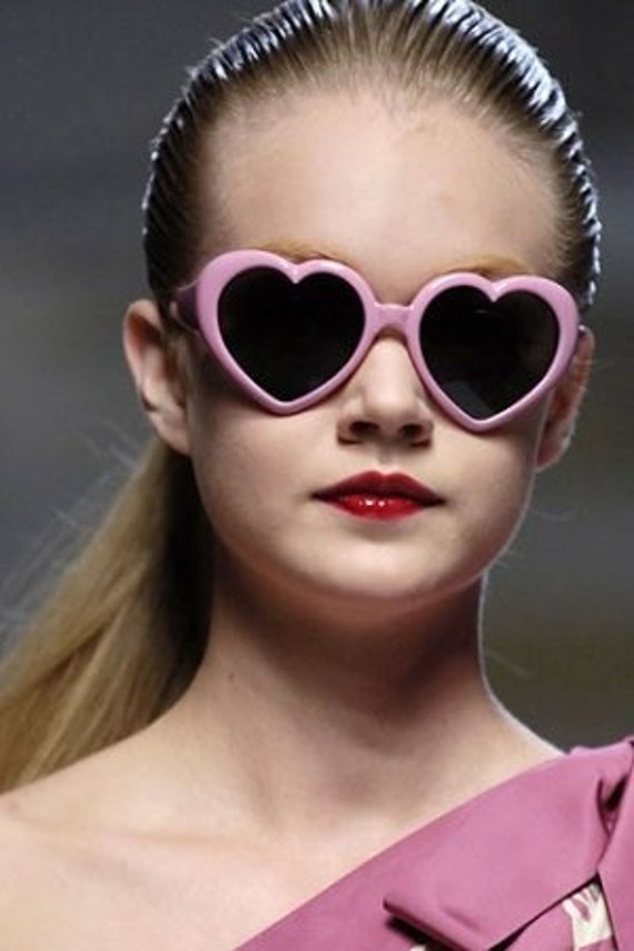Lolita Heart Glasses
