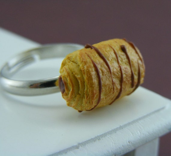 Боль Au Chocolat - кольцо