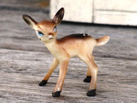 Vintage Fawn Deer Figurine