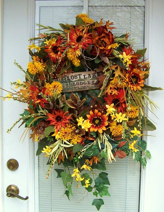 Lost Lake Lodge Woodland Wreath