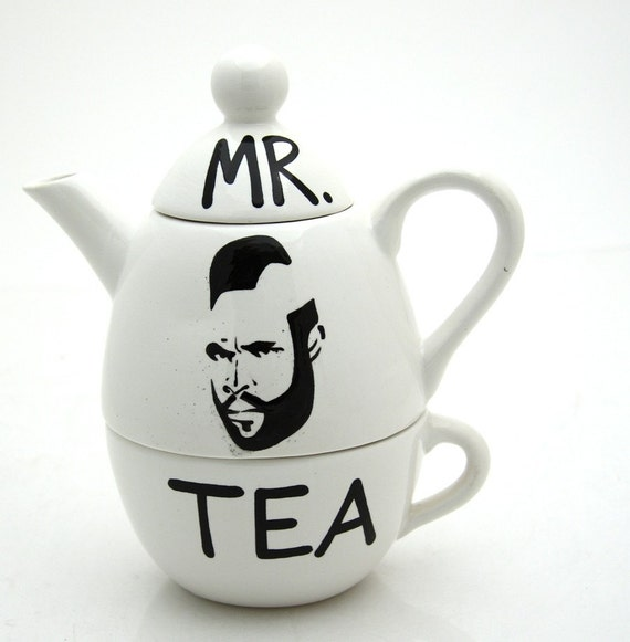 Mr. T Tea For One By Lennymud on Etsy