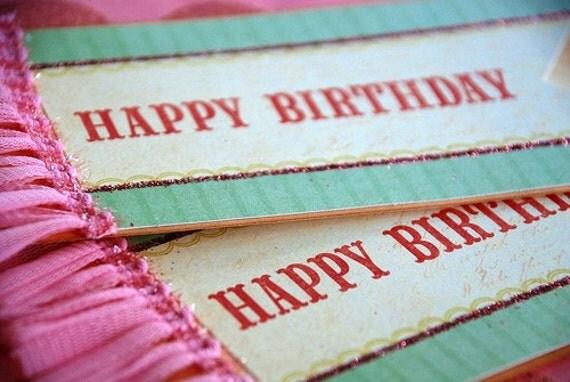 Happy Birthday Gift Tag. Birthday - Giant Gift Tag