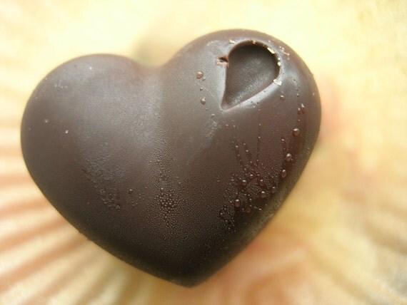 Raw Chocolate Hearts