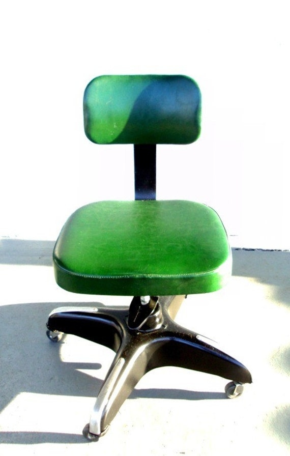 Tsunami Relief - Vintage Mid Century Modern Cole Steel Swivel Chair - 10% of Sale to Tsunami Japan