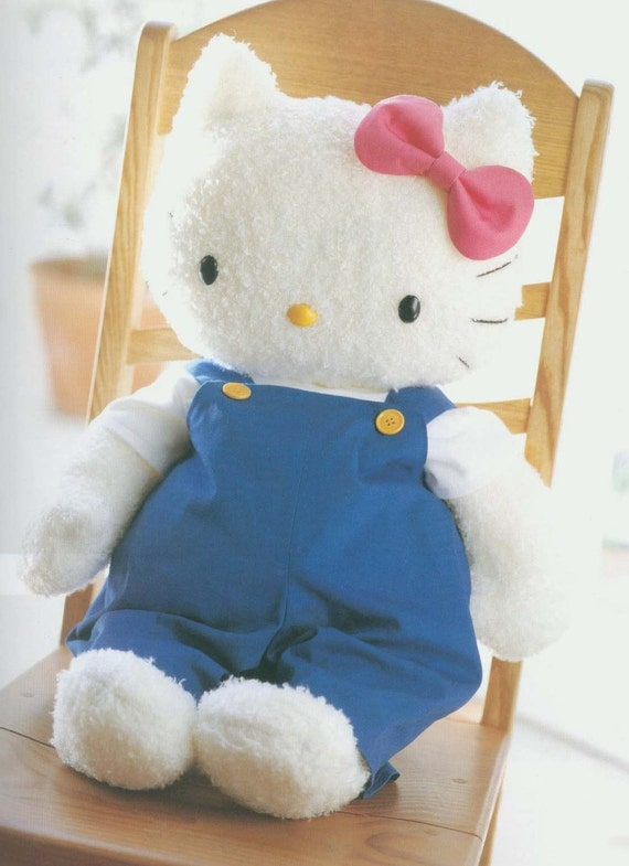 Free Shipping 10 Kitty and friends Toy pattern 3 PDF (jpg)