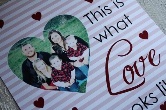 This is What Love Looks Like Printable (Custom Digital File)