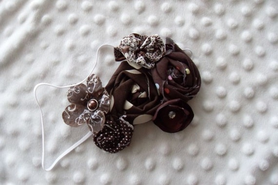 Chocolate Couture Headband