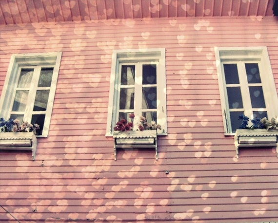 French House With Love -  Fine Art Photography Print 5x7