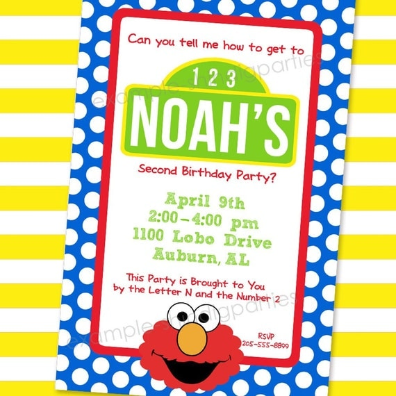 a few of my favorite things: how to throw the ultimate sesame, Party invitations