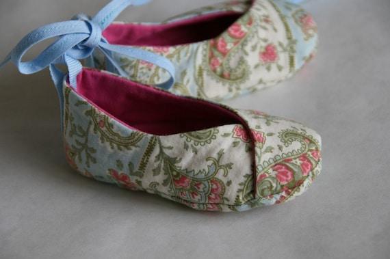 REVERSIBLE KIMONO Baby shoes 3-6m, 6-9m, 9-12m, 12-18m