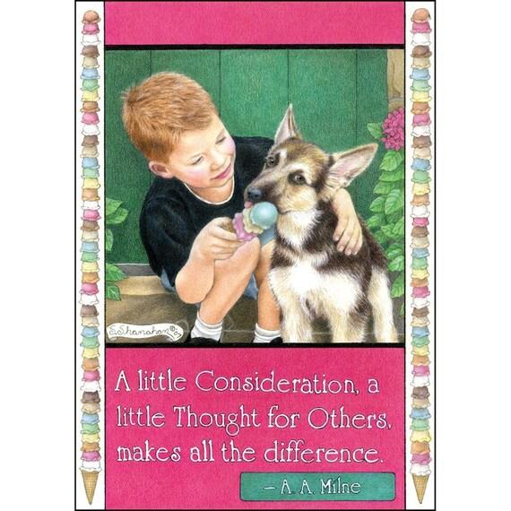 A Little Consideration 8x10 Print