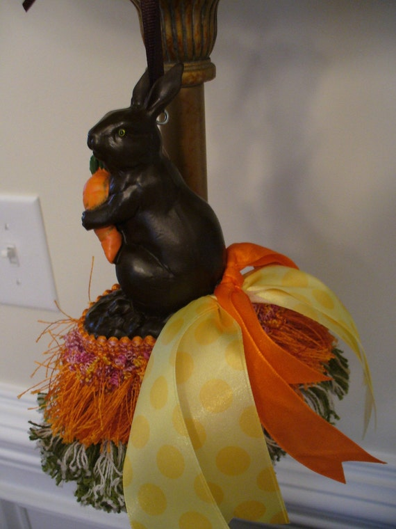 Spring Preview - Carrots and Chocolate Bunny Tassel