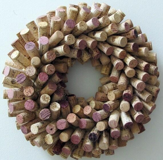 Unique Wine Cork Wreath