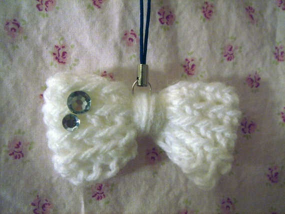 How To Crochet A Bow. Simple Bow w/ Bling: 3.65 +