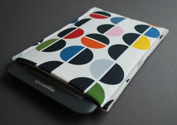 Kindle 1 2 3, Nook, NookColor, Kobo, Sony, Galaxy Tab - eReader Techee Sleeve - Signal
