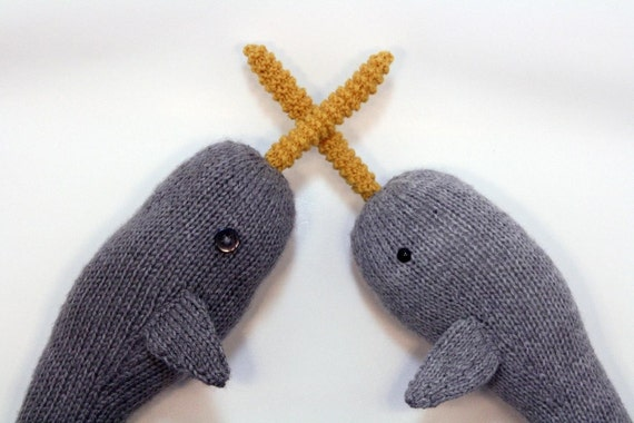 Norah the Gnarly Knit Narwhal