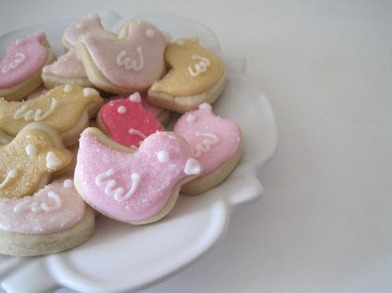 OH SO SMALL Tweet Tweet Brids Sugar Cookies -3 dozen