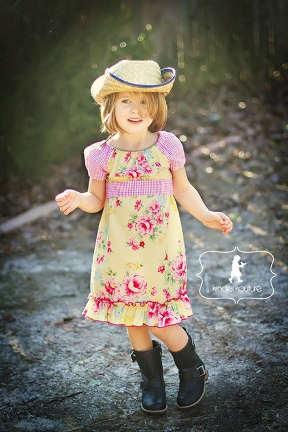 "NEW SPRING 2011 ""Rosy"" Dress - Sizes 6/12mos - 5"