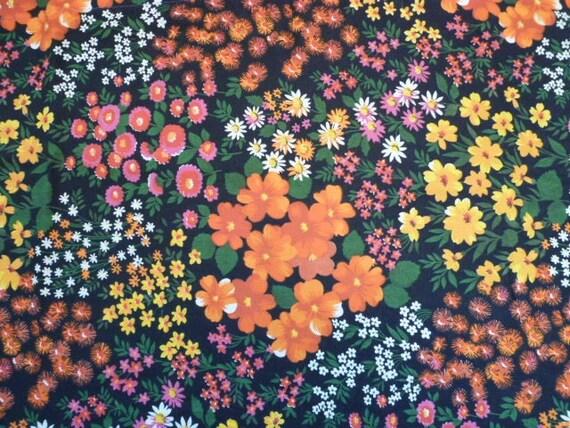 MILLE FLEUR vintage fabric