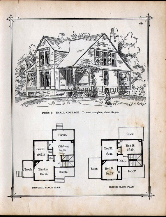 House plans and design house plans small victorian for Victorian playhouse plans