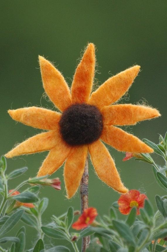 Flower  Needle felting kit