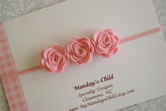Pretty Little Me Felt Flower Headband
