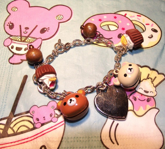 Oh My Rilakkuma Charm Bracelet