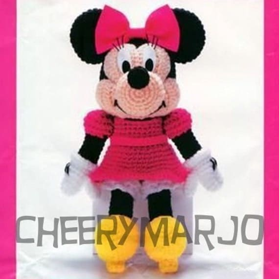 Minnie Mouse Crochet Doll Pattern