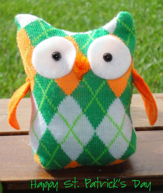 Luck O' the Irish Owl