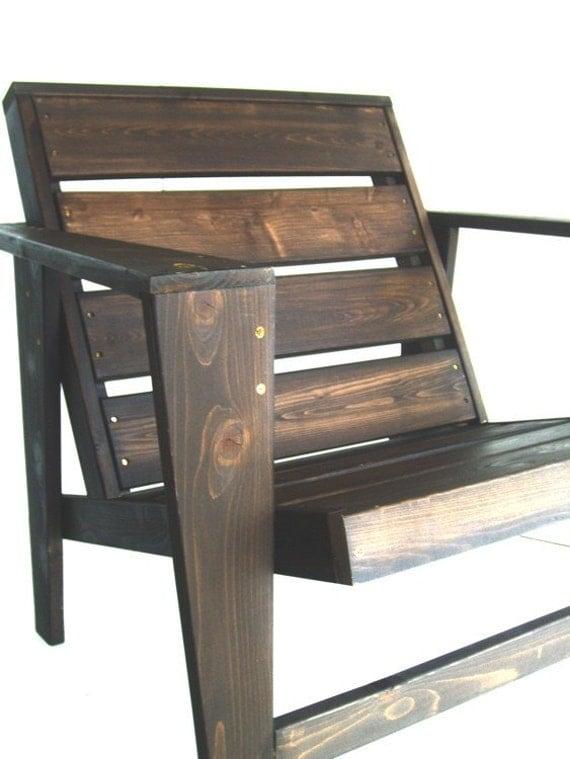 modern adirondack chair plan