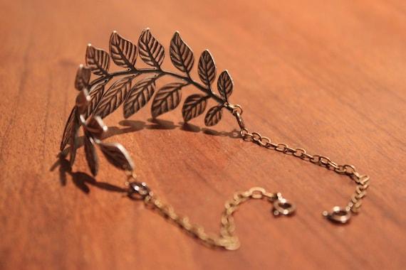 Branch of Leaves Bracelet