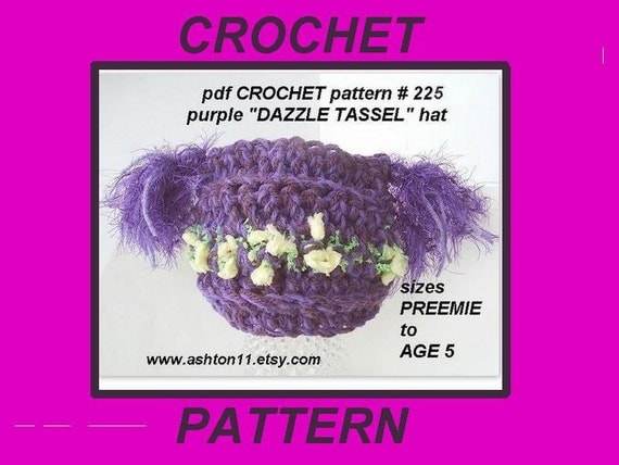CROCHET PATTERNS FOR PREEMIE HATS - Crochet Club