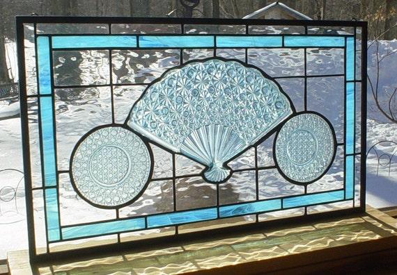 Colonial Blue FAN panel