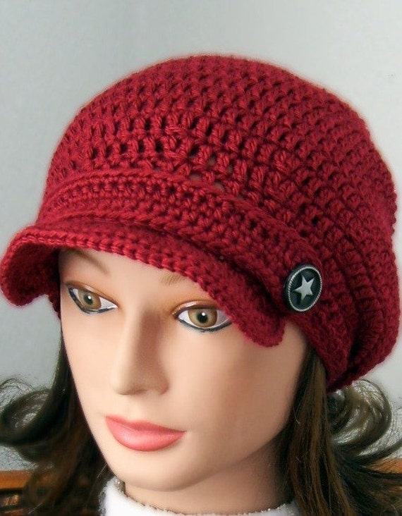 Slouchy Newsboy Hat - Pick A Color
