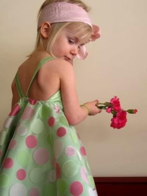 Dressy نقطه رقص لهستانی پولکا لباس نعنا
