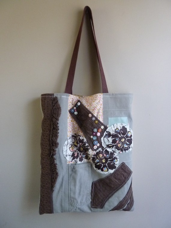 the earthen spring tote....