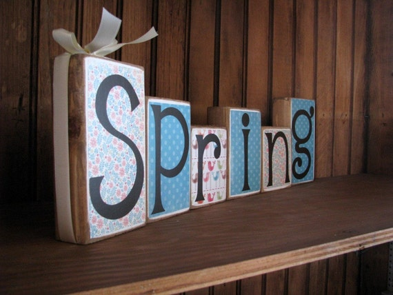 The NEW Spring Blocks....order yours today