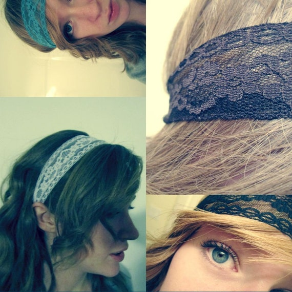 PICK YOUR COLOR -Lexie Lace Headband