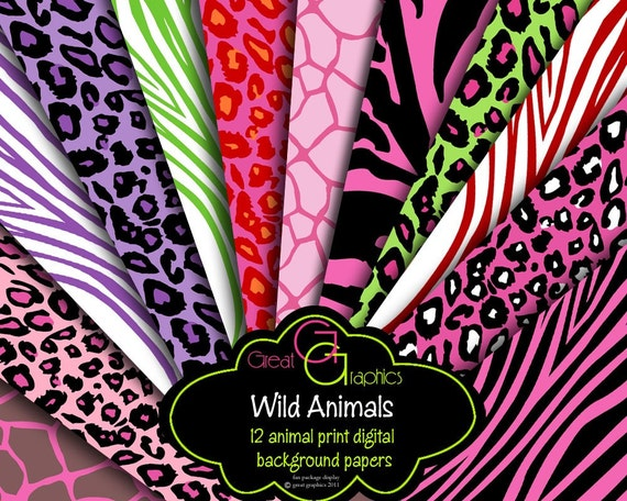 wild animal print wallpaper - photo #11